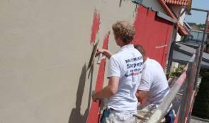 Fassadenanstriche und Putzarbeiten